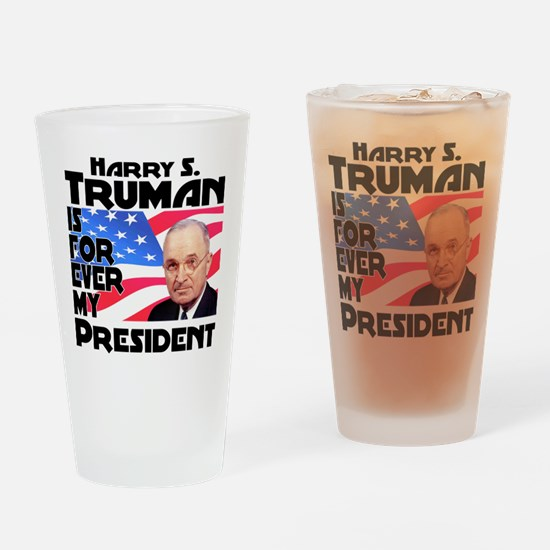 Truman 4ever Drinking Glass