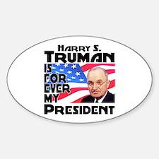 Truman 4ever Decal