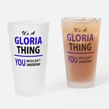 Unique Gloria Drinking Glass