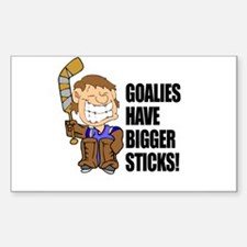 Bigger Sticks Rectangle Decal