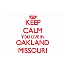 Keep calm you live in Oak Postcards (Package of 8)