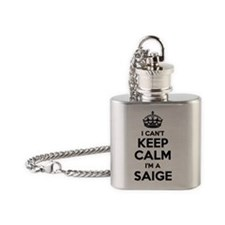 Cute Saige Flask Necklace