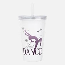 Just Dance, Butterflie Acrylic Double-wall Tumbler