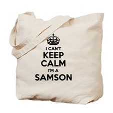 Funny Samson Tote Bag
