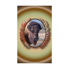 Great Buffalo Sticker (Rect.)
