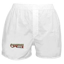 Christmas Freak... Boxer Shorts