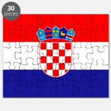 Croatian flag Puzzle