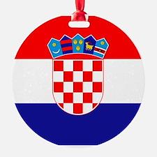 Croatian flag Ornament