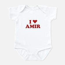 I LOVE AMIR Infant Bodysuit