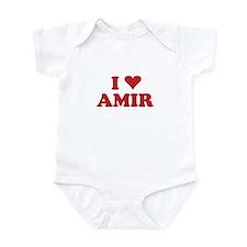 I LOVE AMIR Onesie