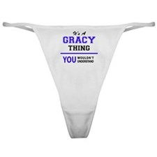 Unique Gracie Classic Thong