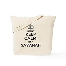 Funny Savanah's Tote Bag