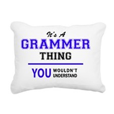 Cute Grammer Rectangular Canvas Pillow