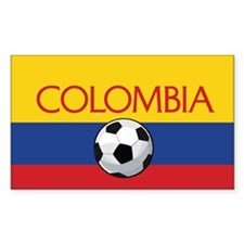 Colombia Soccer / Football Bumper Stickers