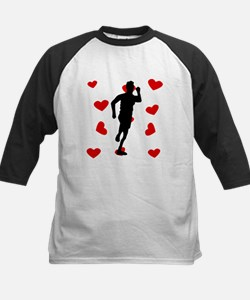 Runner Hearts Baseball Jersey