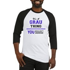 Unique Grau Baseball Jersey