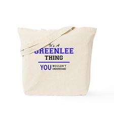 Cute Greenlee Tote Bag