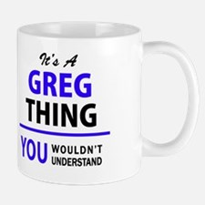 Unique Greg Mug