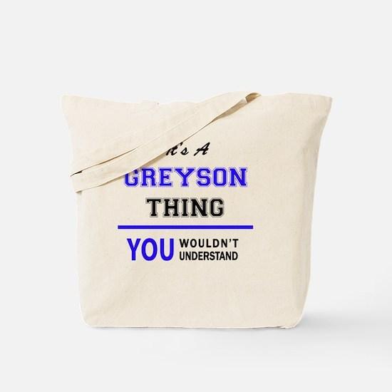 Cute Greyson Tote Bag