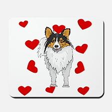 Shetland Sheepdog Love Mousepad