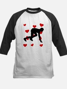 Runner Hearts Baseball Jersey