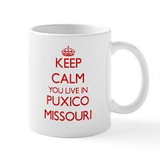 Keep calm you live in Puxico Missouri Mugs