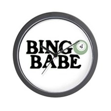 Bingo Babe - Wall Clock