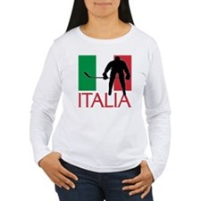 Italia Hockey Long Sleeve T-Shirt