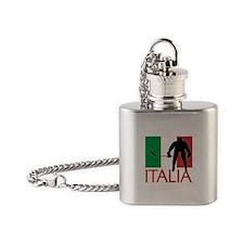 Italia Hockey Flask Necklace