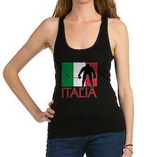 Italia Hockey Racerback Tank Top