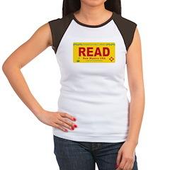 License to Read Women's Cap Sleeve T-Shirt