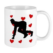 Runner Hearts Mugs