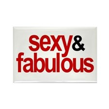 Sexy and Fabulous Rectangle Magnet