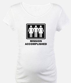 Mission Acomplished Threesome Shirt