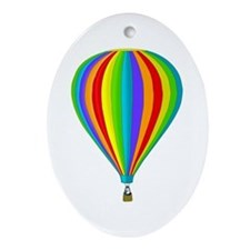 Balloon Oval Ornament
