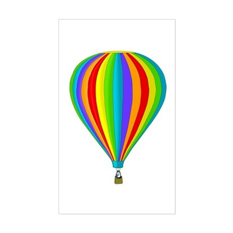 Balloon Rectangle Sticker