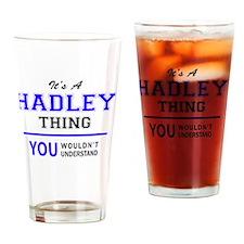 Cute Hadley Drinking Glass