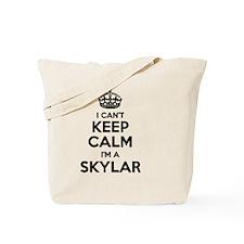 Funny Skylar Tote Bag