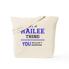 Cute Hailee Tote Bag