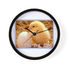 I'm Not Food Wall Clock