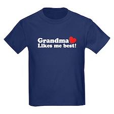 Grandma Likes Me Best T