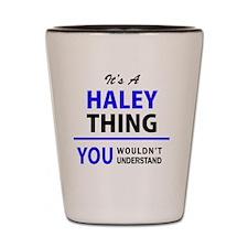 Cool Haley Shot Glass