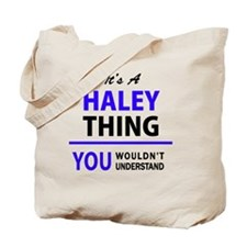 Funny Haley Tote Bag