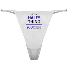 Cool Haley Classic Thong