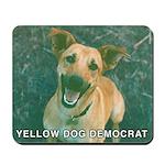 Yellow Dog Democrat Mousepad
