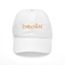 {mtbchick}:: tangerine Baseball Cap