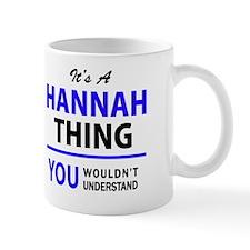 Unique Hannah Mug