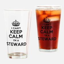 Cute Steward Drinking Glass