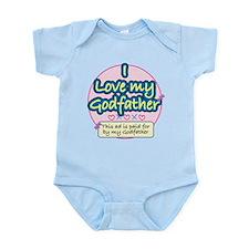 Godfather - Pink Infant Bodysuit