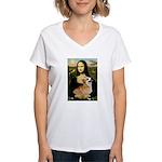 Mona's Pembroke Women's V-Neck T-Shirt
